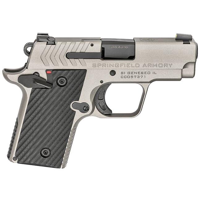 Springfield Armory 911 .380 ACP Titanium Pistol (w/ 2 magazines) PG9109T