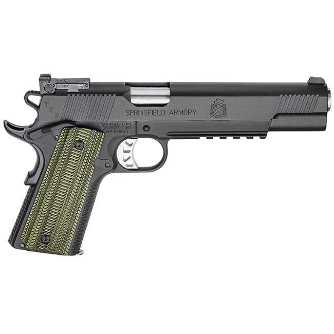 Springfield Armory 100 TRP Longslide Black-T w/ Tactical Rear Sight and Range Bag PC9610L18