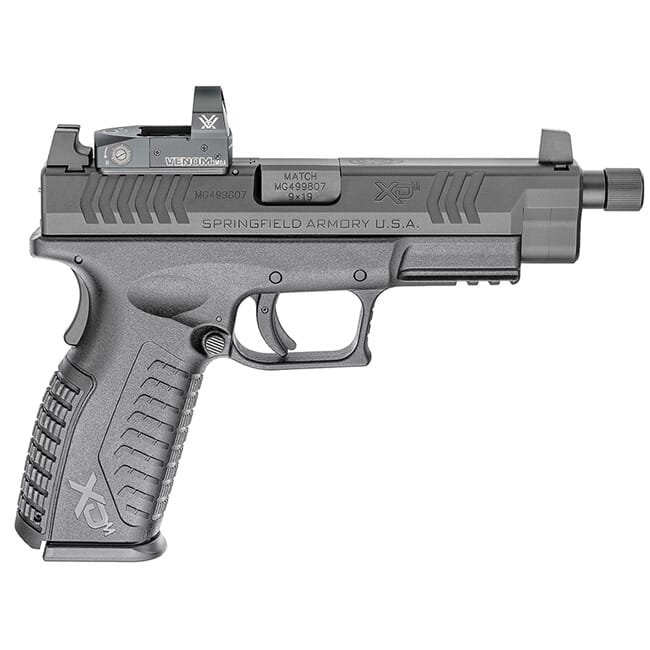 "Springfield Armory XD(M) 9MM 4.5"" Black Threaded OSP Pistol w/ 3 Sight Bases, Vortex Venom Sight & Non-Threaded BBL (w/ 2 Mags) XDMT9459BHCOSPV"