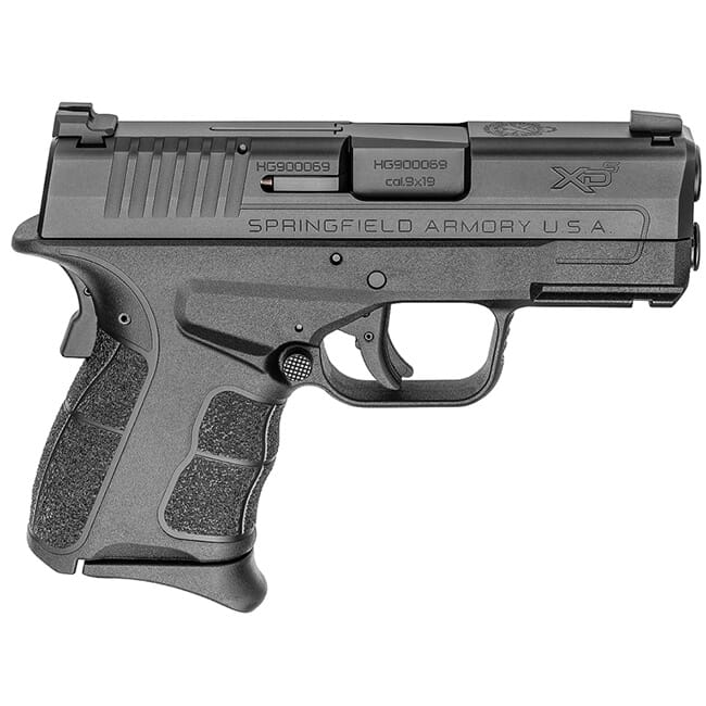 "Springfield Armory XDS 9mm MOD.2 3.3"" Black Tritium Night Sight Pistol (w/ 2 Magazines) XDSG9339BT"