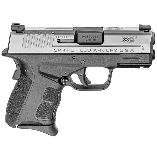 "Springfield Armory XDS 9mm MOD.2 3.3"" Stainless Tritium Night Sight Pistol (w/ 2 Magazines) XDSG9339ST"
