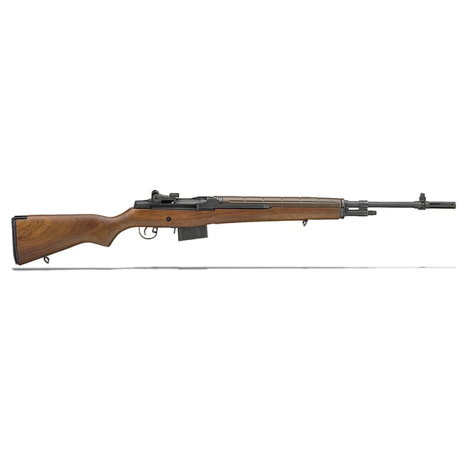 "Springfield M1A 22"" WALNUT STOCK, NM CARBON BBL MA9222"