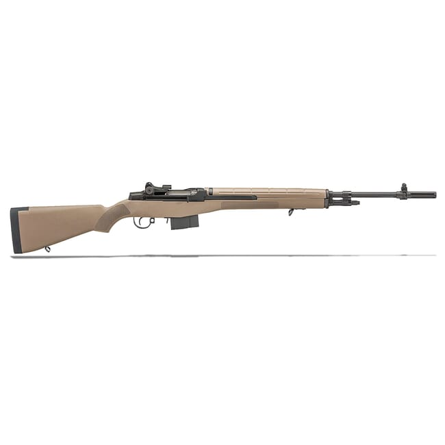 "Springfield M1A 22"" FDE COMPOSITE STOCK CARBON BBL MA9120"