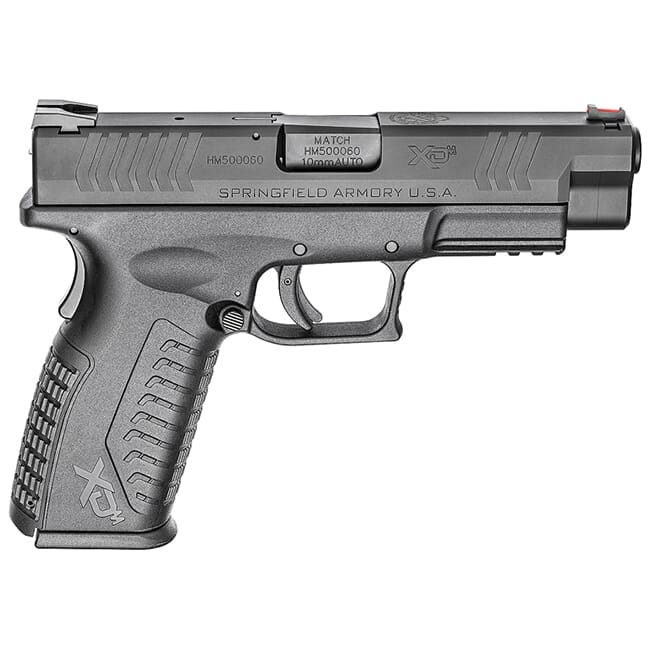 "Springfield Armory XD(M) 10mm 4.5"" Black Pistol (w/ 2 Magazines) XDM94510BHCE"