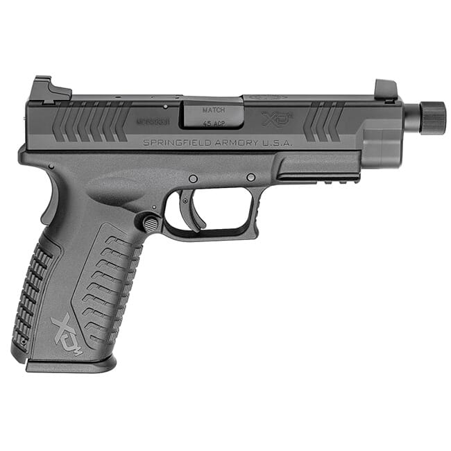 "Springfield Armory XDM .45 ACP 4.5"" Black Threaded Barrel w/ 3 Magazines XDMT94545BHCE"