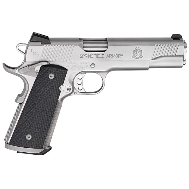 "Springfield 1911-A1 5"" .45 TRP SERVICE STAINLESS PC9107L18"