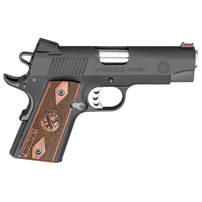 "Springfield 1911-A1 4"" 9MM LW RANGE OFFICER BLACK PI9125L"