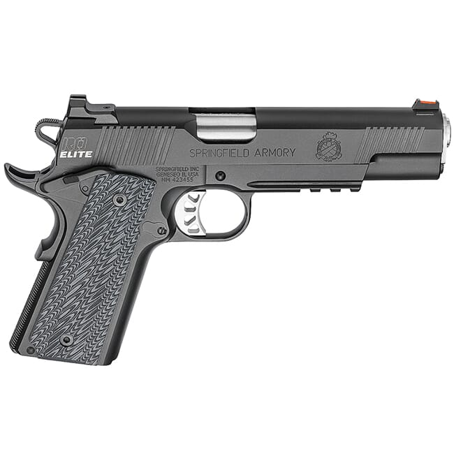 "Springfield Armory 1911 Range Officer Elite Operator .45ACP 5"" (2) 7rd Mags Black-T PI9131E"