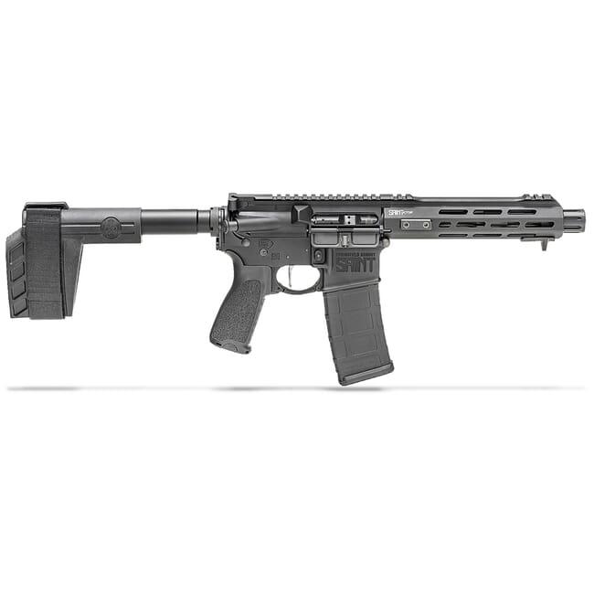 "Springfield Armory 5.56 Saint Victor 7.5"" Black Pistol w/ Stainless Steel Barrel STV975556B"
