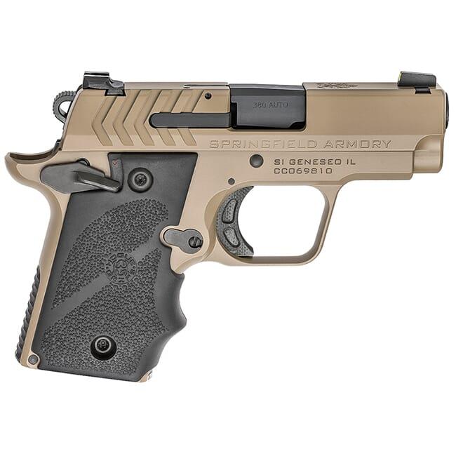 Springfield Armory 911 .380 ACP Desert FDE Pistol (w/ 2 magazines) PG9109F