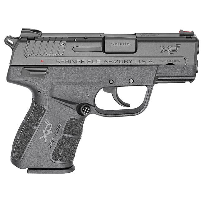 "Springfield Armory XDE 3"" 9mm Black XDE9339BE-SA"