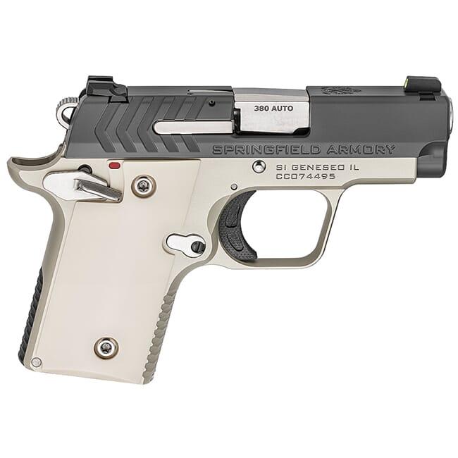 Springfield Armory 911 .380 ACP Platinum / Graphite Pistol (w/ 2 magazines) PG9109PG