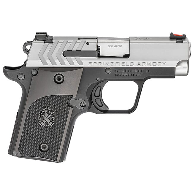 Springfield Armory 911 .380 ACP Alpha Stainless Pistol (w/ 1 magazine) PG9108S