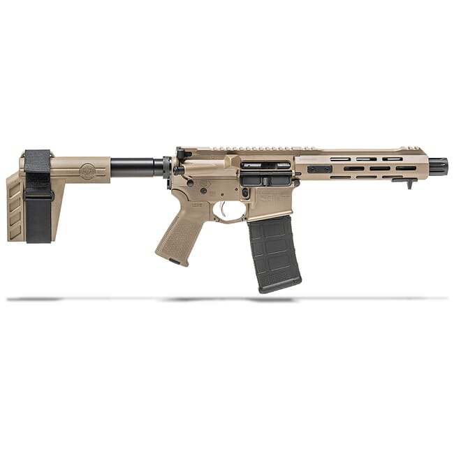 "Springfield Armory 5.56 Saint 7.5"" Flat Dark Earth Pistol w/ Stainless Steel Barrel ST975556FDE"