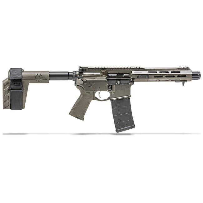"Springfield Armory 5.56 Saint 7.5"" OD Green Pistol w/ Stainless Steel Barrel ST975556ODG"