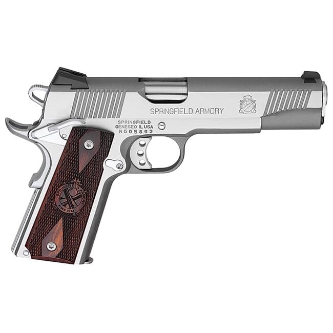 "Springfield Armory 1911-A1 5"" .45 STAINLESS STEEL PX9151L"