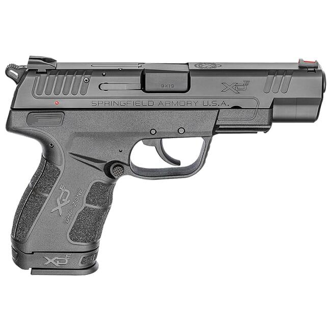 "Springfield Armory XDE 4.5"" 9mm Black Pistol (w/ 2 Magazines) XDE9459B"
