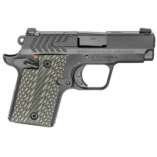 "Springfield Armory 911 9mm 3"" Nitride Pistol (w/ 2 magazines) PG9119"