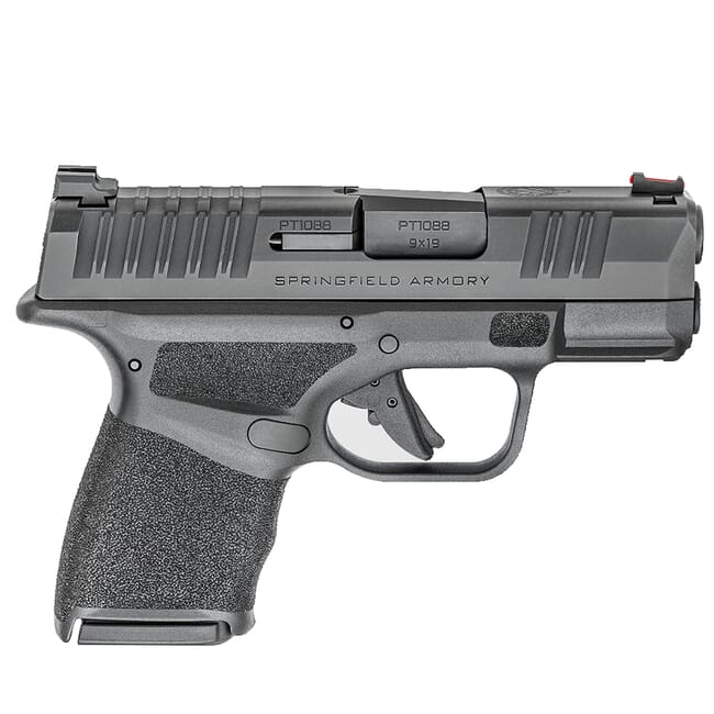 "Springfield Armory Hellcat Micro-Compact 9mm 3"" Pistol w/ Fiber Optic Sight, (1) 11rd and (1) 13rd Mags HC9319BFO"