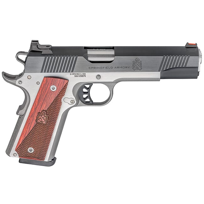 """Springfield Armory Ronin 1911 9mm 5"""" Blued/Stainless Pistol PX9119L"""