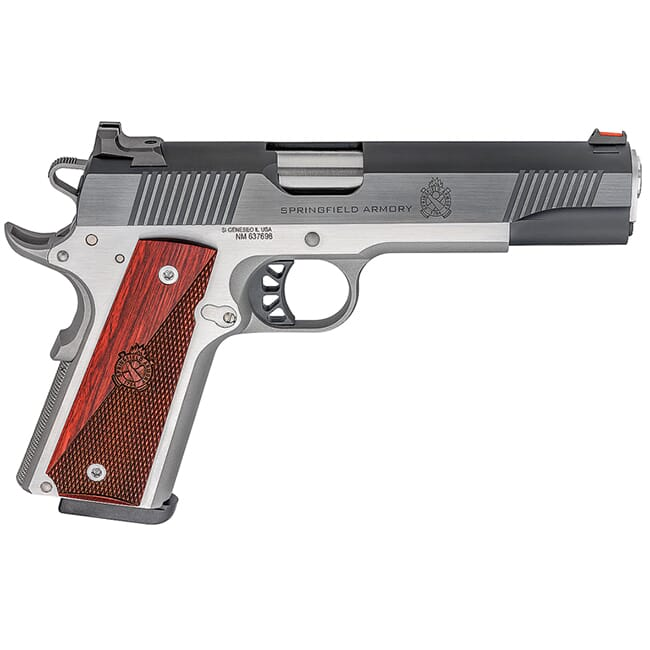 """Springfield Armory Ronin 1911 .45 5"""" Blued/Stainless Pistol PX9120L"""