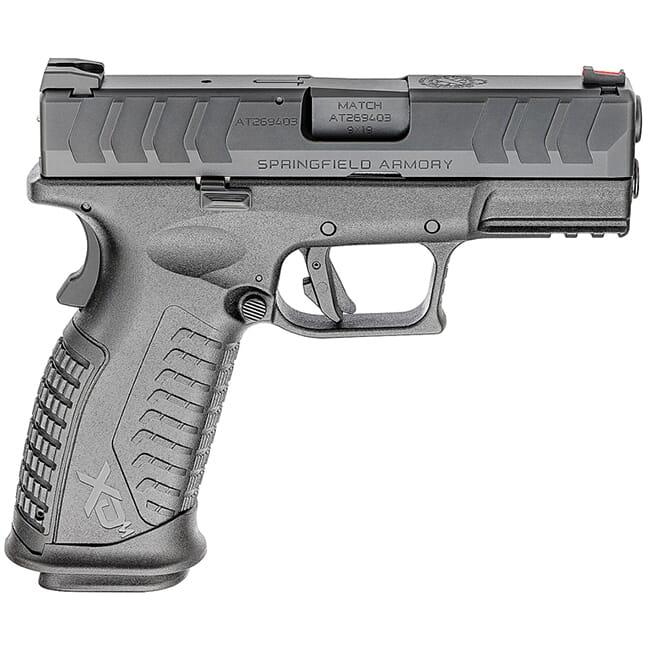"Springfield Armory XD(M) Elite 9mm 3.8"" Black Pistol w/2 Mags XDME9389BHC"