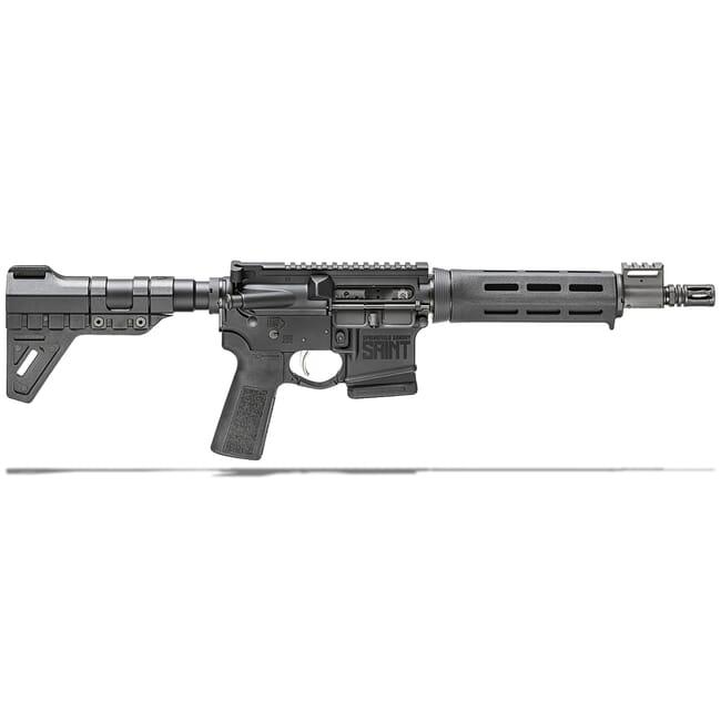 "Springfield Armory 5.56 Saint Pistol 10rd w/  9.6"" Barrel and B5 SOPMOD Stock ST9096556BMLC-B5"