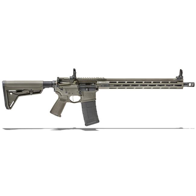 "Springfield Armory 5.56 OD Green SAINT VICTOR w/ Chrome Moly 16"" Barrel w/ FF 15"" Handguard, Mid Length Gas System Rifle STV916556G"