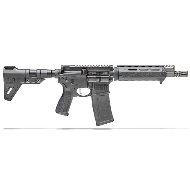 "Springfield Armory 5.56 Saint Pistol w/ Chrome Moly 9.6"" Barrel & PIC-GB ST9096556BM"