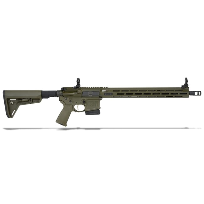 "Springfield Armory 5.56 OD Green SAINT VICTOR w/ Chrome Moly 16"" Barrel w/ FF 15"" Handguard, Mid Length Gas System, 10Rd Rifle STV916556GLC"