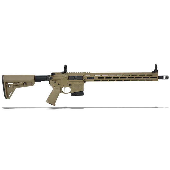 "Springfield Armory 5.56 Flat Dark Earth SAINT VICTOR w/ Chrome Moly 16"" Barrel w/ FF 15"" Handguard, Mid Length Gas System 10-Rd Rifle STV916556FLC"