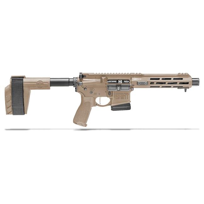 "Springfield Armory 5.56 Flat Dark Earth Saint Victor 7.5"" Pistol w/ Stainless Steel Barrel, 10Rd STV975556FLC"