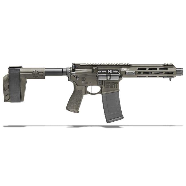 "Springfield Armory 5.56 OD Green Saint Victor 7.5"" Pistol w/ Stainless Steel Barrel, STV975556G"