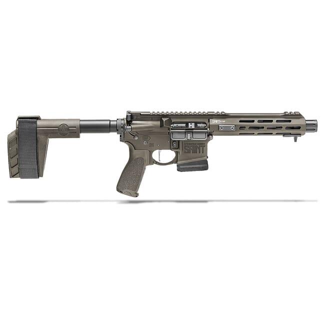 "Springfield Armory 5.56 OD Green Saint Victor 7.5"" Pistol w/ Stainless Steel Barrel, 10Rd STV975556GLC"