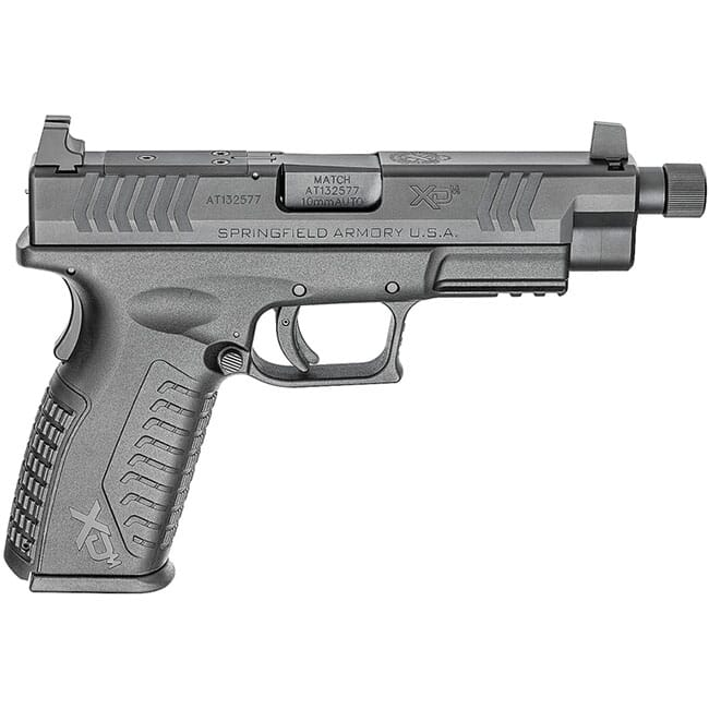 "Springfield Armory XD(M) 10mm 4.5"" Black Threaded OSP Pistol w/ 3 Sight Bases (w/ 2 Magazines) XDMT94510BHCOSP"