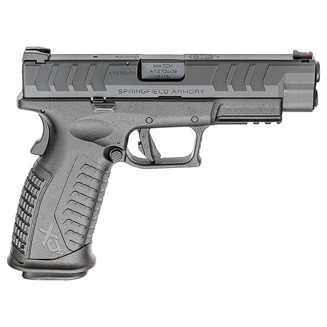 "Springfield Armory XD(M) Elite 9mm 4.5"" Black Pistol w/2 Mags XDME9459BHC"
