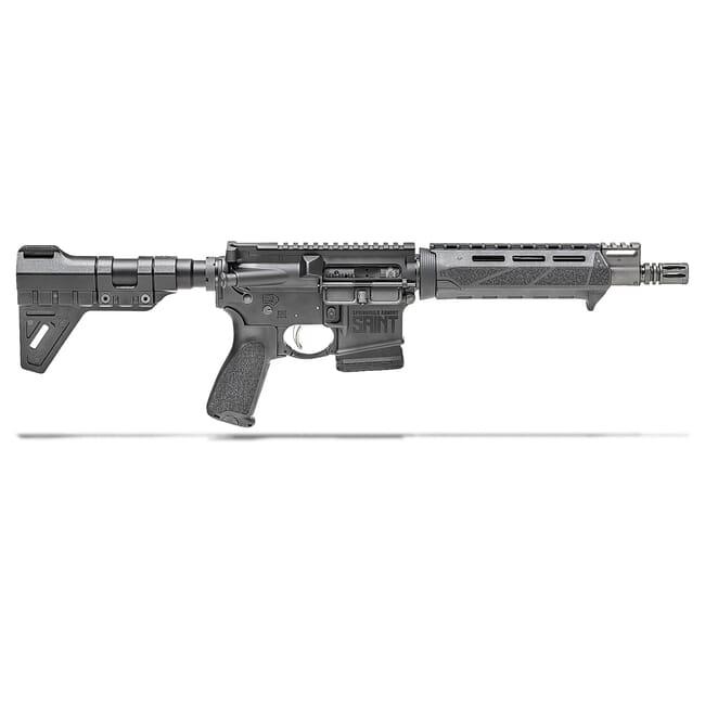 "Springfield Armory 5.56 Saint Pistol w/ Chrome Moly 9.6"" Barrel & PIC-GB, 10Rd ST9096556BMLC"
