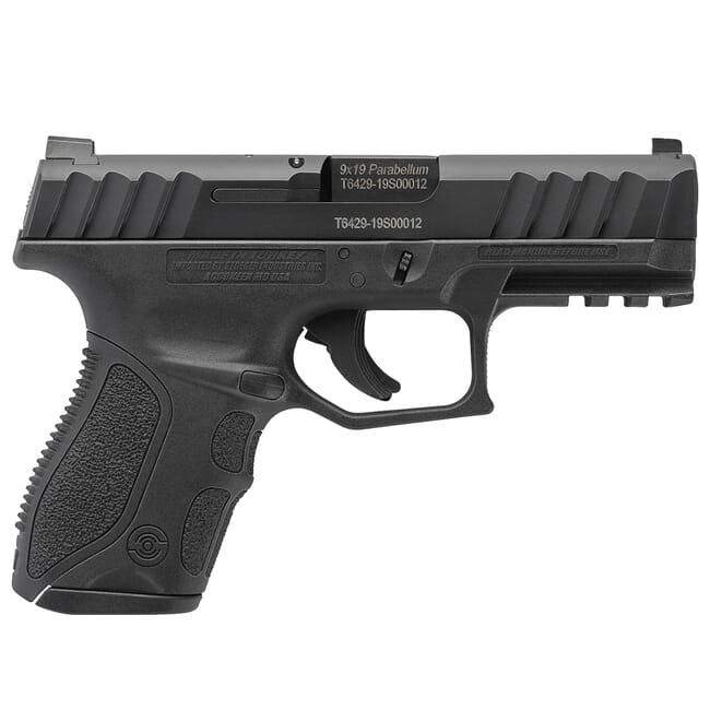 Stoeger STR-9C Compact 9mm Black Pistol w/ (1) 13Rd Mag & Med Backstraps 31730