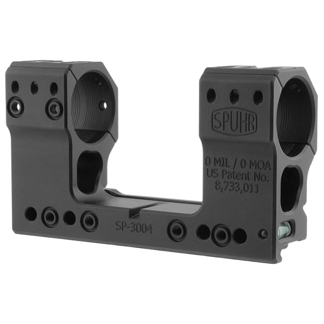 "Spuhr 30mm Unimount Height 48mm/1.89"" 0 MIL/0 MOA SP-3004"