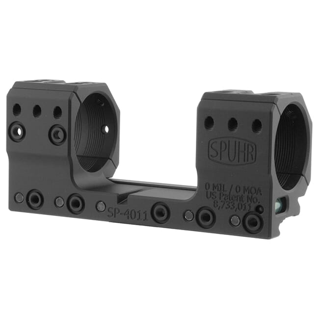 "Spuhr 34mm Unimount Height 28mm/1.102"" 0 MIL/0 MOA SP-4011"