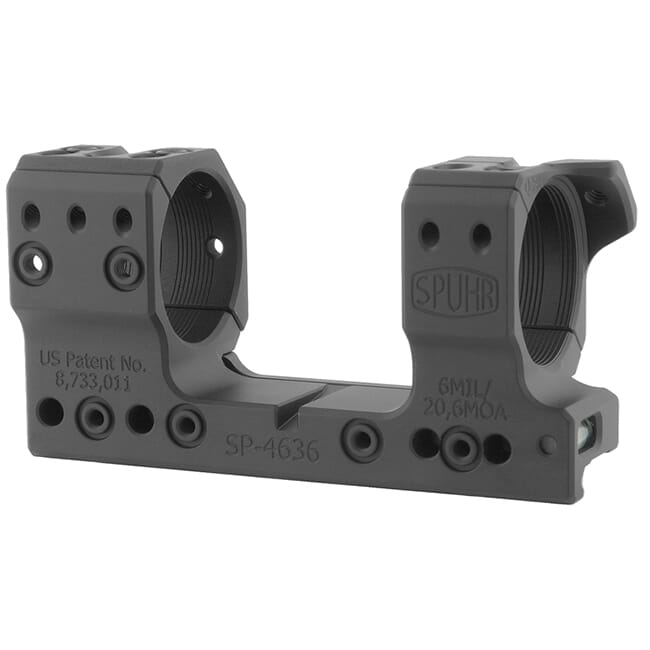 "Spuhr 34mm Unimount Height 34mm/1.35"" 6 MIL/20.6 MOA SP-4636"