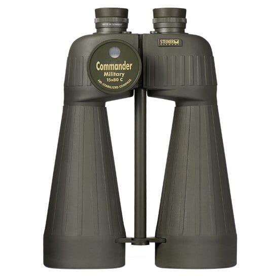 Steiner 15x80 Military w/Compass Binocular 2693