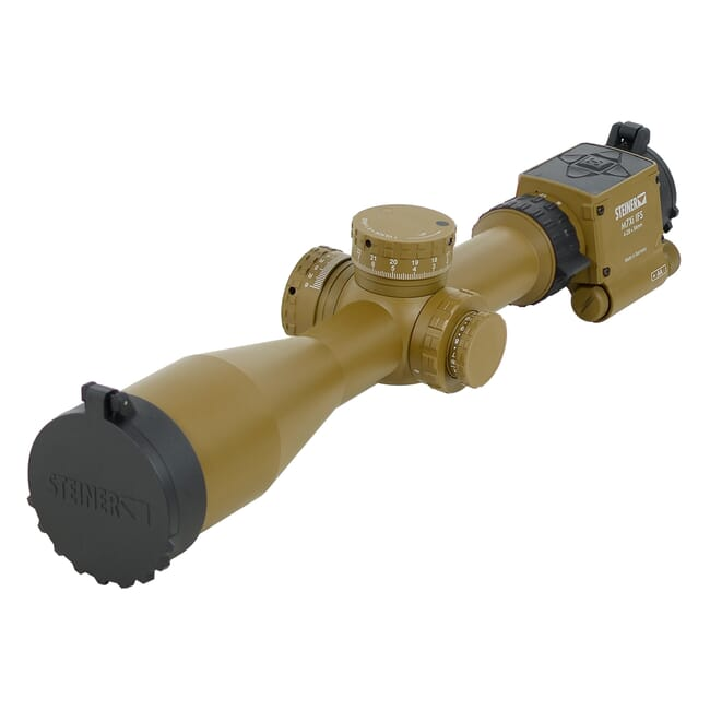 Steiner M7Xi 4-28x56 MSR2 IFS CCW Coyote Brown Rifle Scope 8720-MSR2IFS