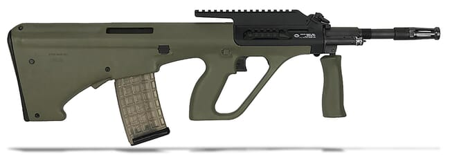 "Steyr AUG A3 M1 5.56/223 Rem 16"" Green Stock NATO Semi-Auto Extended Rail Rifle AUGM1GRNNATOL2"