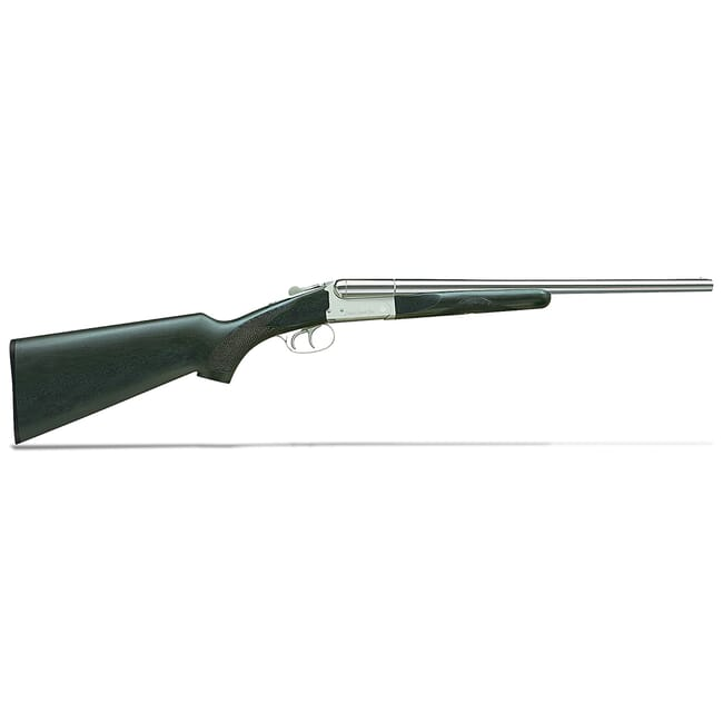 "Stoeger Coach DT SxS Polished Nickel 20GA 20"" Shotgun 31420"