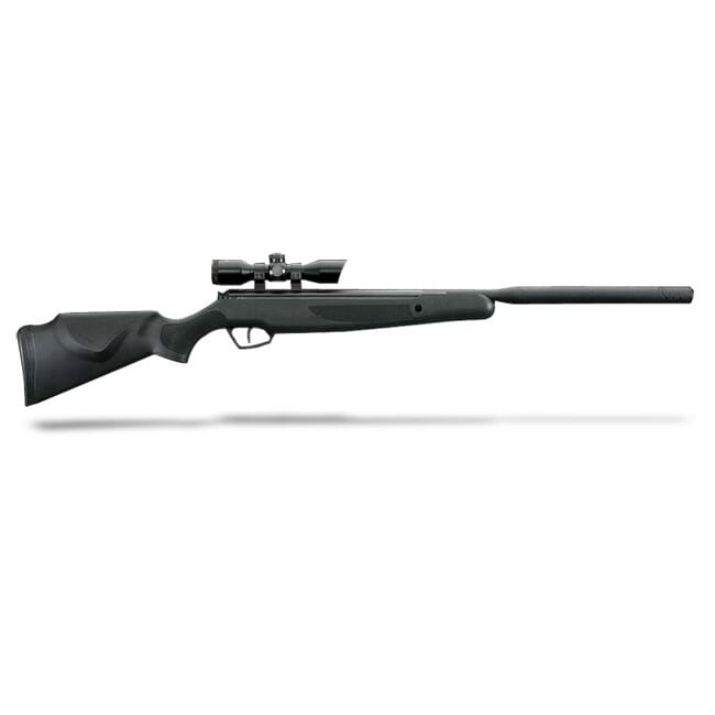 Stoeger X-20 S Black Synthetic Monte Carlo Stock and 4x32 Illuminated Red/Green Scope-.177 Cal./1200 FPS.  MPN 30410