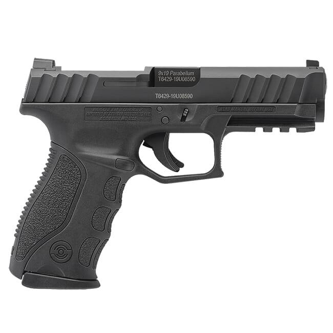 Stoeger STR-9 9mm Optics Ready Black Pistol w/ (3) 15Rd Mags & 3 Backstraps 31728
