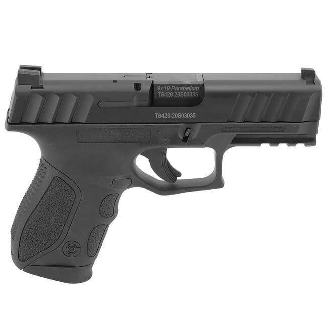 Stoeger STR-9C Compact 9mm Black Pistol w/ (3) 13Rd Mags, 3 Backstraps, & Tritium Sights 31732