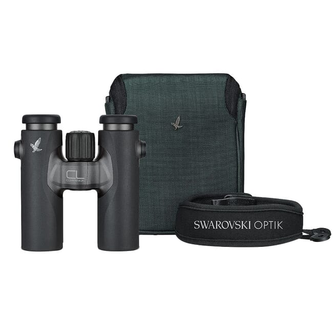 Swarovski CL Companion 10x30 (Anthracite/Charcoal) Wild Nature Binoculars Demo Condition A 86146