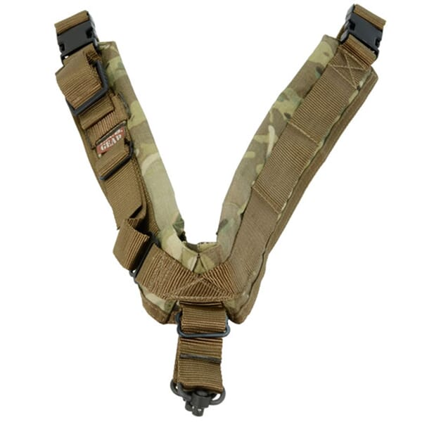 TAB Biathlon Sling with Flush Cups - MultiCam